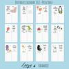Calendar 2021 by Loesje & Paramoje - Printable -  Birthday Edition