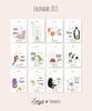 Calendar 2021 by Loesje & Paramoje  - Printable - Monthly Edition