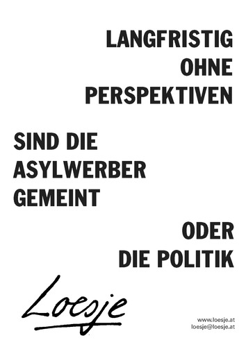 The poster archive | Loesje International