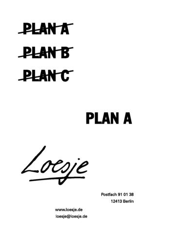 Planning A Capsule Wardrobe: PLAN A / PLAN B / PLAN C / PLAN A