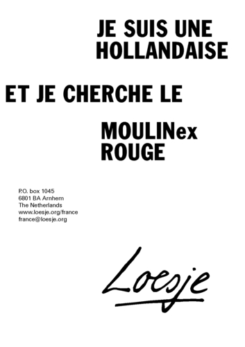 The Poster Archive Loesje International